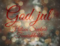 God jul til alle våre medlemmer
