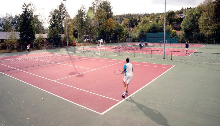 Utebaner Svelvik tennisklubb