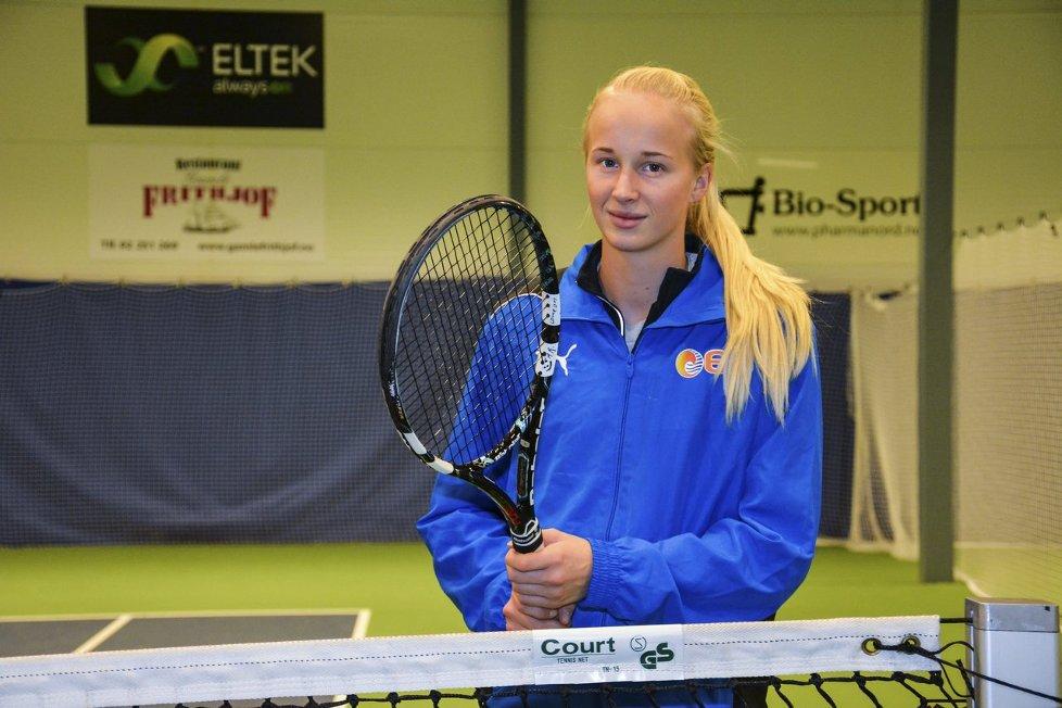 Sine første WTA-poeng | Svelviksposten