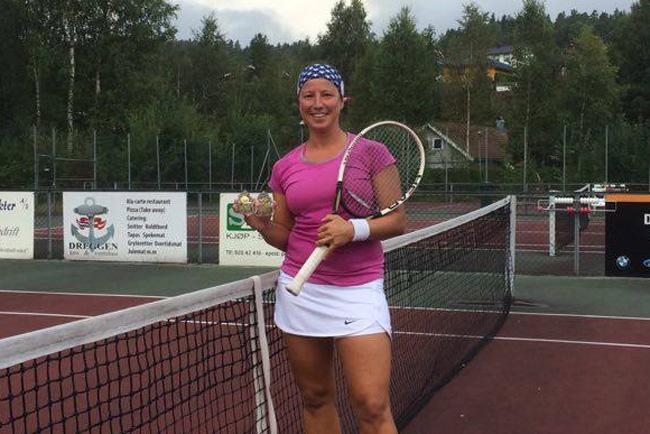 Karianne Braathen ble årets klubbmester i damer single