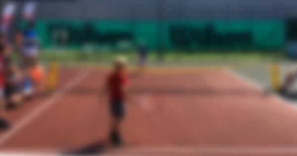 Junior tenniskamp