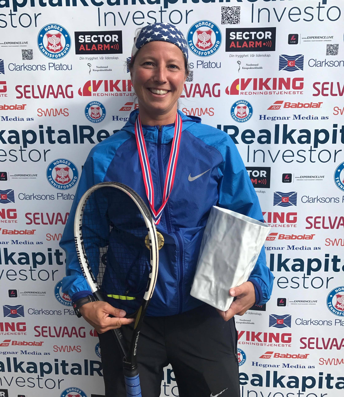 Siri Hauge ble norgesmester