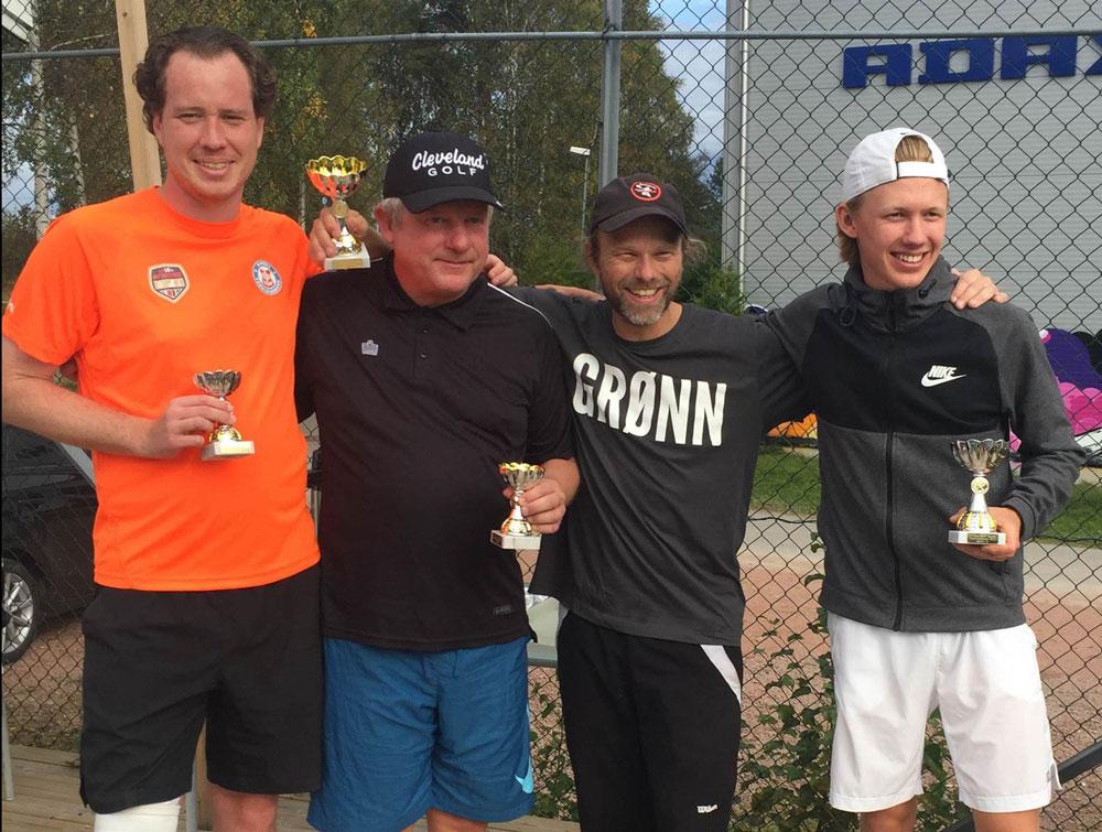 Klubbmesterne i Herrer Double 2017