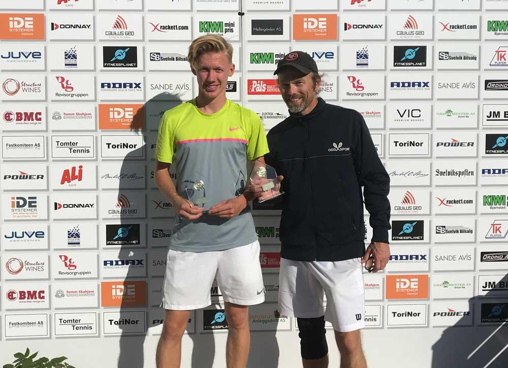 Marius Paltto og Odd Erik Helgesen
